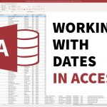 Working with Dates in Microsoft Access Queries